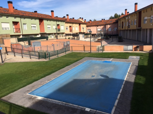 Piso en venta en Piso en Cogollos, Burgos, 58.700 €, 1 habitación, 1 baño, 91 m2