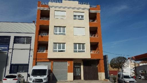 Piso en venta en Caudete, Albacete, Avenida Valencia, 64.000 €, 3 habitaciones, 2 baños, 97 m2