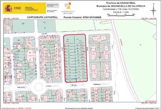 Suelo en venta en Suelo en Argamasilla de Calatrava, Ciudad Real, 11.000 €, 175 m2