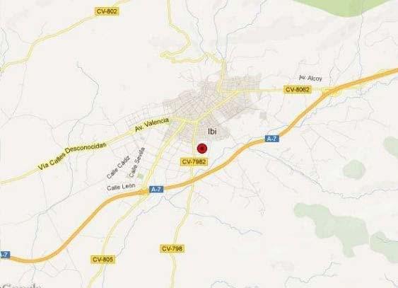 Suelo en venta en Suelo en Ibi, Alicante, 50.423 €, 562 m2