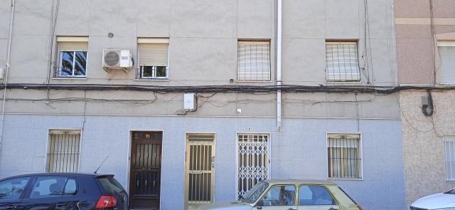 Piso en venta en Patilla, Elche/elx, Alicante, Calle Gines Garcia Esquitino, 31.800 €, 3 habitaciones, 1 baño, 89 m2