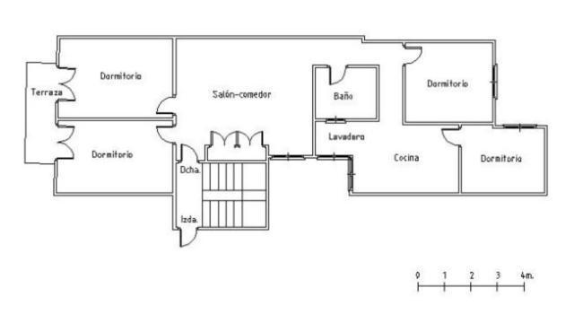 Piso en venta en Carrús Est, Elche/elx, Alicante, Calle Hermanos Navarro Caracena, 38.900 €, 4 habitaciones, 2 baños, 110 m2