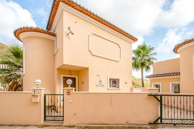 Casa en venta en Pueblo Alcàssar, El Benitachell/poble, Alicante, Urbanización Valle Paradise, 267.000 €, 3 habitaciones, 3 baños, 123 m2