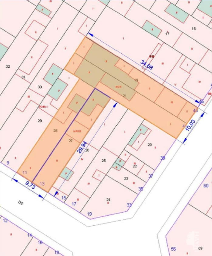 Piso en venta en Can Montllor, Terrassa, Barcelona, Calle Tarrega, 54.000 €, 4 habitaciones, 2 baños, 175 m2
