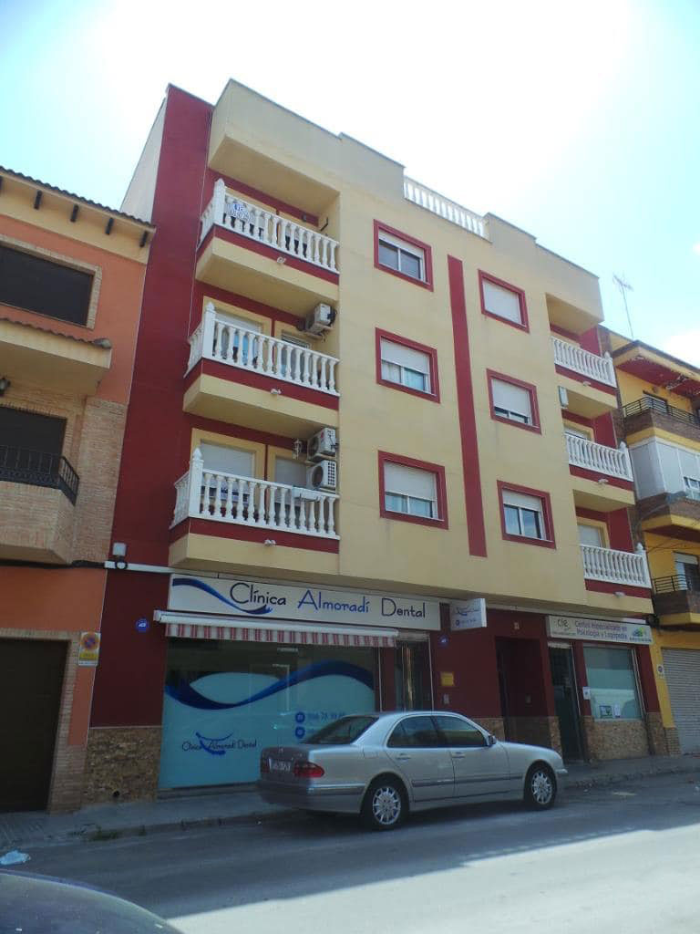 Piso en venta en Centro, Almoradí, Alicante, Calle Ramon Y Cajal, 80.800 €, 3 habitaciones, 1 baño, 102 m2