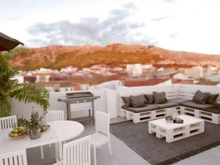 Piso en venta en Villena, Alicante, Calle Cruz de Mayo, 31.000 €, 4 habitaciones, 1 baño, 52,21 m2