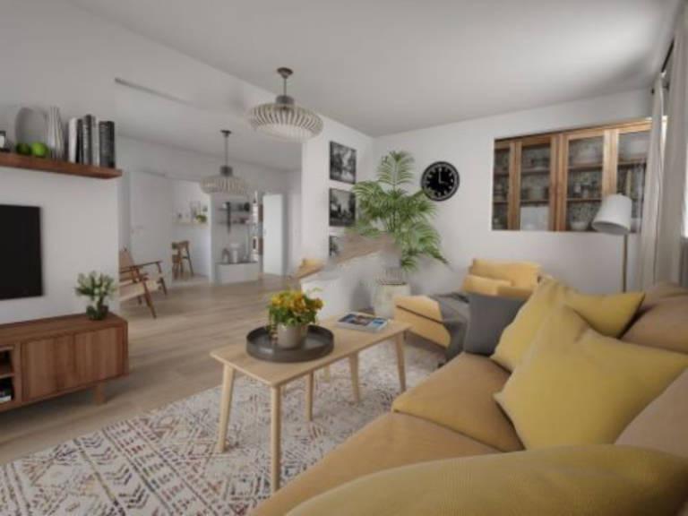Piso en venta en Esquibien, Inca, Baleares, Calle Jocs, 119.000 €, 2 habitaciones, 1 baño, 91 m2