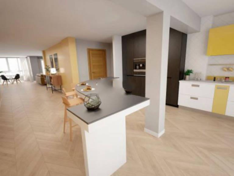 Piso en venta en Esquibien, Inca, Baleares, Calle Costa I Llobera, 136.000 €, 4 habitaciones, 2 baños, 120 m2