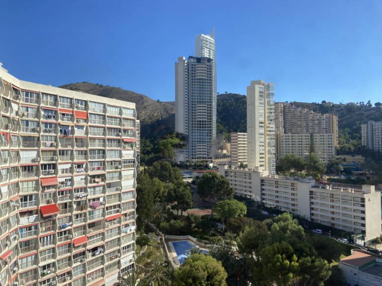 Piso en venta en Benidorm, Alicante, Avenida Roma - Edificio Marabu, 96.000 €, 1 habitación, 1 baño, 40,8 m2