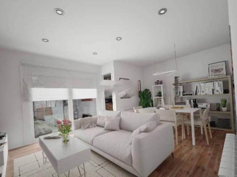 Piso en venta en Terrassa, Barcelona, Calle Dom Bosco, 120.000 €, 2 habitaciones, 1 baño, 83,5 m2