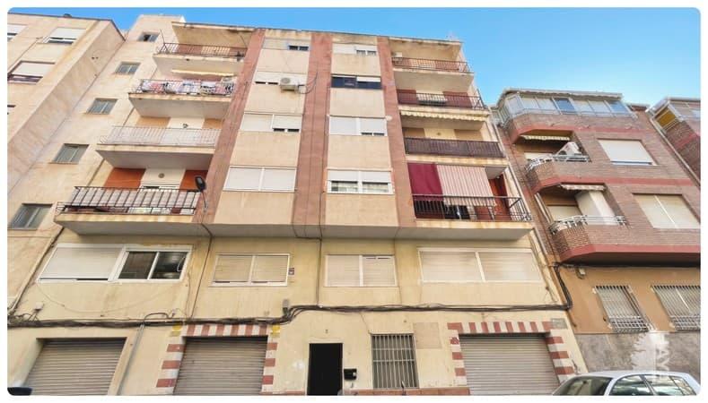 Piso en venta en Elda, Alicante, Calle Haiti, 48.600 €, 4 habitaciones, 1 baño, 122 m2