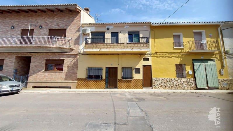 Piso en venta en Yátova, Yátova, Valencia, Calle Cervantes, 54.200 €, 4 habitaciones, 1 baño, 125 m2
