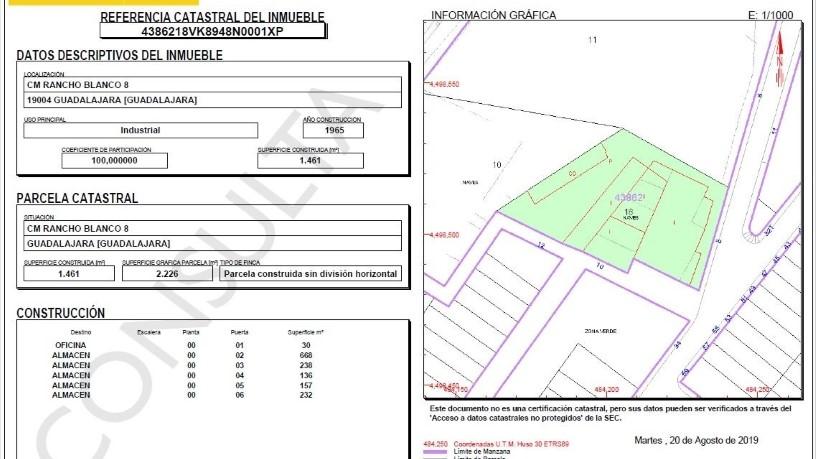Suelo en venta en Los Manantiales, Guadalajara, Guadalajara, Calle Cmno Rancholanco, 243.000 €