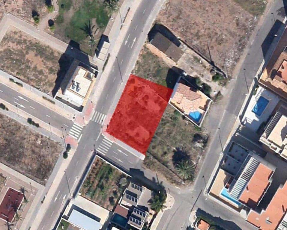 Suelo en venta en Suelo en Moncofa, Castellón, 123.000 €, 526 m2