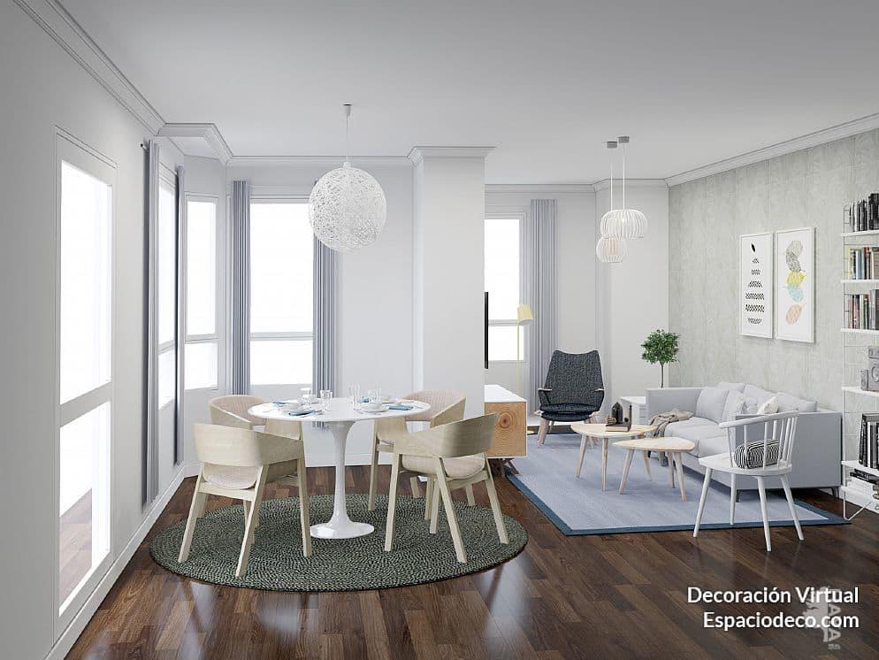 Piso en venta en Grupo la Paz, Castellón de la Plana/castelló de la Plana, Castellón, Calle Ronda Mijares, 152.000 €, 5 habitaciones, 1 baño, 203 m2