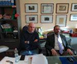 Da sinistra: il consigliere Stefano Solaroli e l'avvocato Carlo Bergamasco