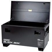 05544 DRAPER Black Box® (Contractors Secure Storage Box) 1210 x 605 x 470mm