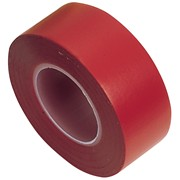 11912 DRAPER Expert 8 x 10M x 19mm Red Insulation Tape to BSEN60454/Type2