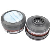 13501 DRAPER Spare A1P2 Filters (2) for Combined Vapour and Dust Respirator 3620