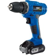14598 DRAPER Storm Force® Cordless Hammer Drill with Li-ion Battery (14.4V)