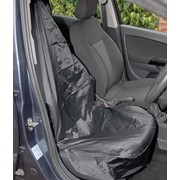 22596 DRAPER Side Airbag Compatible Polyester Front Seat Cover