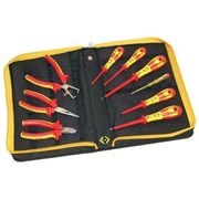 331003 CK Tools VDE Pliers and Screwdrivers Kit 9 Piece PZ & SL Tips