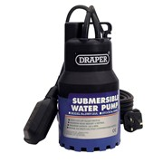 35464 DRAPER 120L/Min 200W 230V Submersible Water Pump with 6M Lift and Float Sw