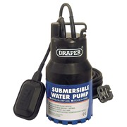 35465 DRAPER 144L/Min 350W 230V Submersible Water Pump with Float Switch