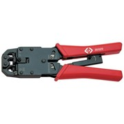 430020 CK Tools Ratchet Crimping Pliers For Modular Plugs