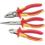 44948 Knipex 3 Piece VDE Plier Assembly Pack