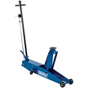 48350 DRAPER 3 Tonne Long Chassis Hydraulic Trolley Jack with 'Quick Lift' Facil