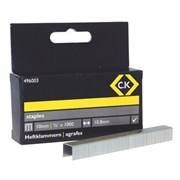496003 CK Tools Staples 10.5mm wide x 10mm deep Box Of 1000