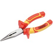 50832 DRAPER 160mm VDE Approved Fully Insulated Long Nose Pliers