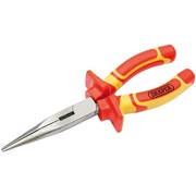 50833 DRAPER 180mm VDE Approved Fully Insulated Long Nose Pliers