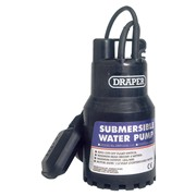 52064 DRAPER 120L/Min 200W 110V Submersible Water Pump with 6M Lift and Float Sw