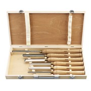 58697 DRAPER 6 Piece HSS Woodturning Chisel Set