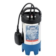 64274 DRAPER 235L/Min (Max.) 700W 230V Stainless Steel Body Submersible Dirty Wa