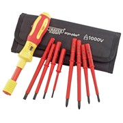 65372 DRAPER Expert Ergo Plus® 9 Piece Interchangeable VDE Torque Screwdriv