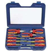 71155 DRAPER Expert 10 Piece Fully Insulated Pliers and Screwdriver Set