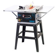 72713 DRAPER 254mm Table Saw with Extension Wings and Stand