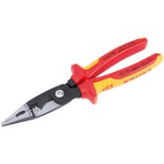 80803 Knipex VDE 200mm Electricians Universal Installation Pliers