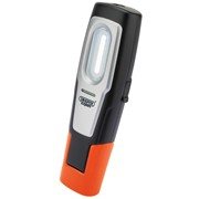 82684 DRAPER Compact Inspection Lamp with Rechargeable 2W COB LED (Orange)