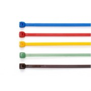 HFC 100(RED) - 100 x 2.5 mm Coloured Cable Ties - Nylon