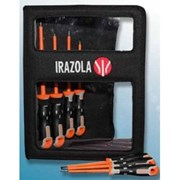 IZ202032 Irazola Tools VDE 7 piece Tekno+ Screwdriver Set in a wallet