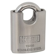 K15050D Kasp 150 Series Stainless Steel Padlock 50mm Closed shackle