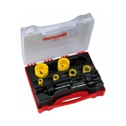 KS2000E Starrett Electricians Hole Saw Kit Constant Pitch