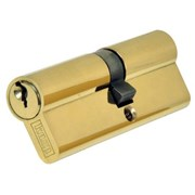 SDB4050D Easifit Replacement Double Euro Cylinder Polished Brass 40/50
