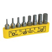 T4524 CK Tools Bit Clip Hexagon Set Of 8