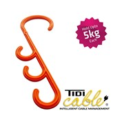 TC002 Tidi-Hanger - S Hooks for Cable Managment | Cable Hangers | Skyhooks