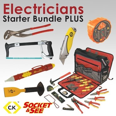 BUNDLE-2 Electricians Starter Bundle PLUS